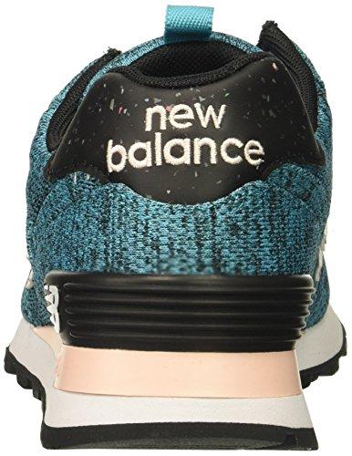 Nieuw Evenwicht Vrouwen 574v1 Sneaker Levendig Ozon Blauw / Zonsopgang Glo