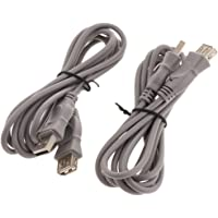 Baosity 2Pack 6ft Controller Extension Cable For Sony Playstation Classic Mini Console