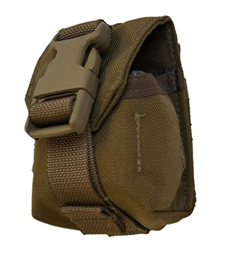 (USMC M67 Frag Grenade Pouch Coyote FSBE Genuine Issue 3-Pack 8465-01-516-7967)