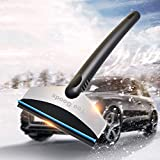 Ytuomzi Car Snow Shovel Portable Ice Scraper for Car Windshield and Window Snow Scraper Stainless Steel Ice Cleaning Tool Multifunctional Auto Snow Mover Removal Tool for SUV,Cars,Trucks (Blue Wiper)