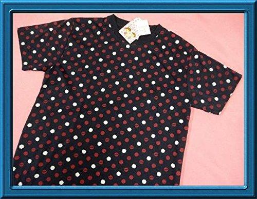 ペコちゃん 不二家 ミルキー半袖Tシャツ タグ付き メンズMサイズ紺の商品画像