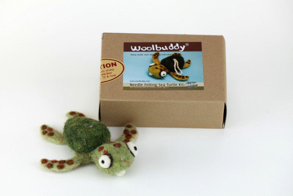 Woolbuddy Needle Felting Sea Turtle Kit