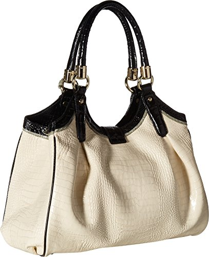 Brahmin Top Elisa Handle Ivory Bag wnOvTUAwq