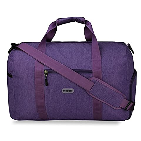 Duffle Bag, Modase Unisex Classic Travel Duffel Bag - Express Weekender Bag Carry on Luggage with Shoulder - Sporty Travel Tote