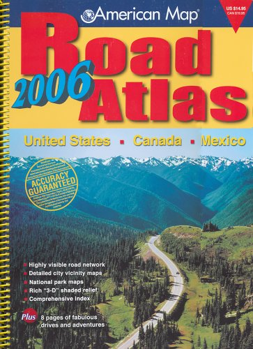 American Map 2006 Road Atlas: United States - Canada ...