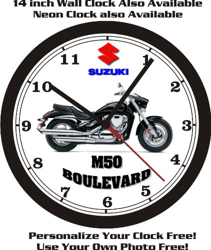 2013 SUZUKI M50 BOULEVARD WALL CLOCK-FREE USA SHIP!, used for sale  Delivered anywhere in USA