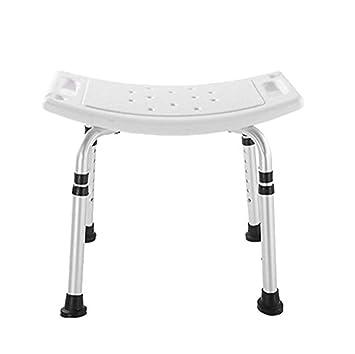 MYT Chaise de salle de bain réglable en hauteur réglable ...