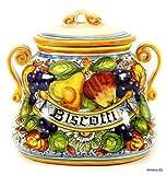 FRUTTA: Oval Biscotti Jar [#4333/H-FRU]