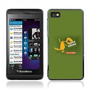 Carcasa Funda Case // V0000679 Monster Background of 404 Error // BlackBerry Z10