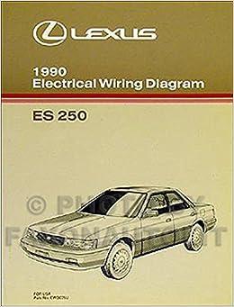 1990 lexus es 250 wiring diagram manual original: lexus: amazon com: books