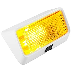 Lumitronics LED RV Exterior Porch Light with On/Off Switch and Removable Lenses. Perfect Outside Replacement 12V Lighting for RVs, Motorhomes, Campers, 5th Wheels, Trailers.
