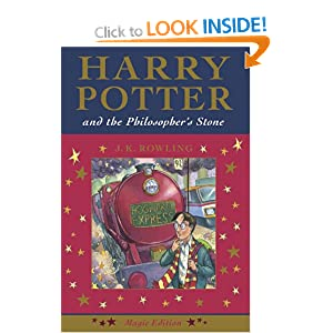 Harry Potter and the Philosopher's Stone (Magic Edition) J. K. Rowling
