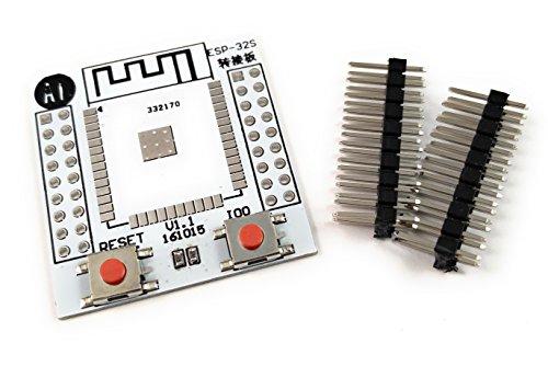 prototyping boards and accessories \u003e interfaces \u003e semiconductormotrade esp32s esp32 esp wroom 32 adapter board