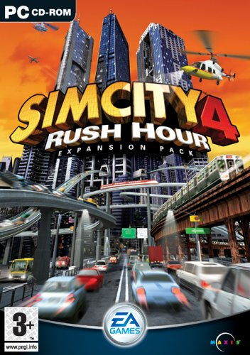Sim City 4 Rush Hour Expansion - SimCity 4: Rush Hour Expansion Pack (PC CD) by Electronic Arts