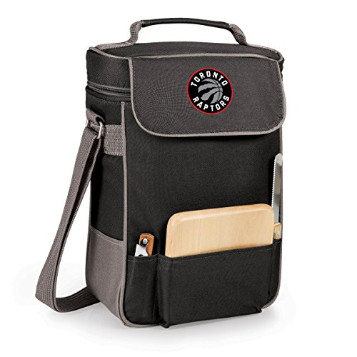 NBA Toronto Raptors Duet Insulated 2-Bottle Wine and Cheese Tote