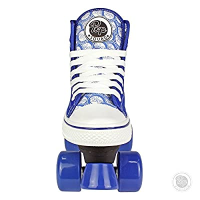 Pop Squad Midtown Girl's and Boy's Roller Skates - Blue : Sports & Outdoors