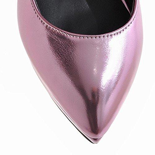 MissSaSa Donna Scarpe col Tacco Alto Spillo Ballo (34, rosa)