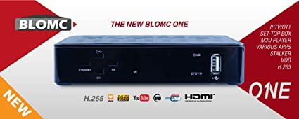 BLOMC ONE IPTV Setup BOX for Stalker and Xtream Codes