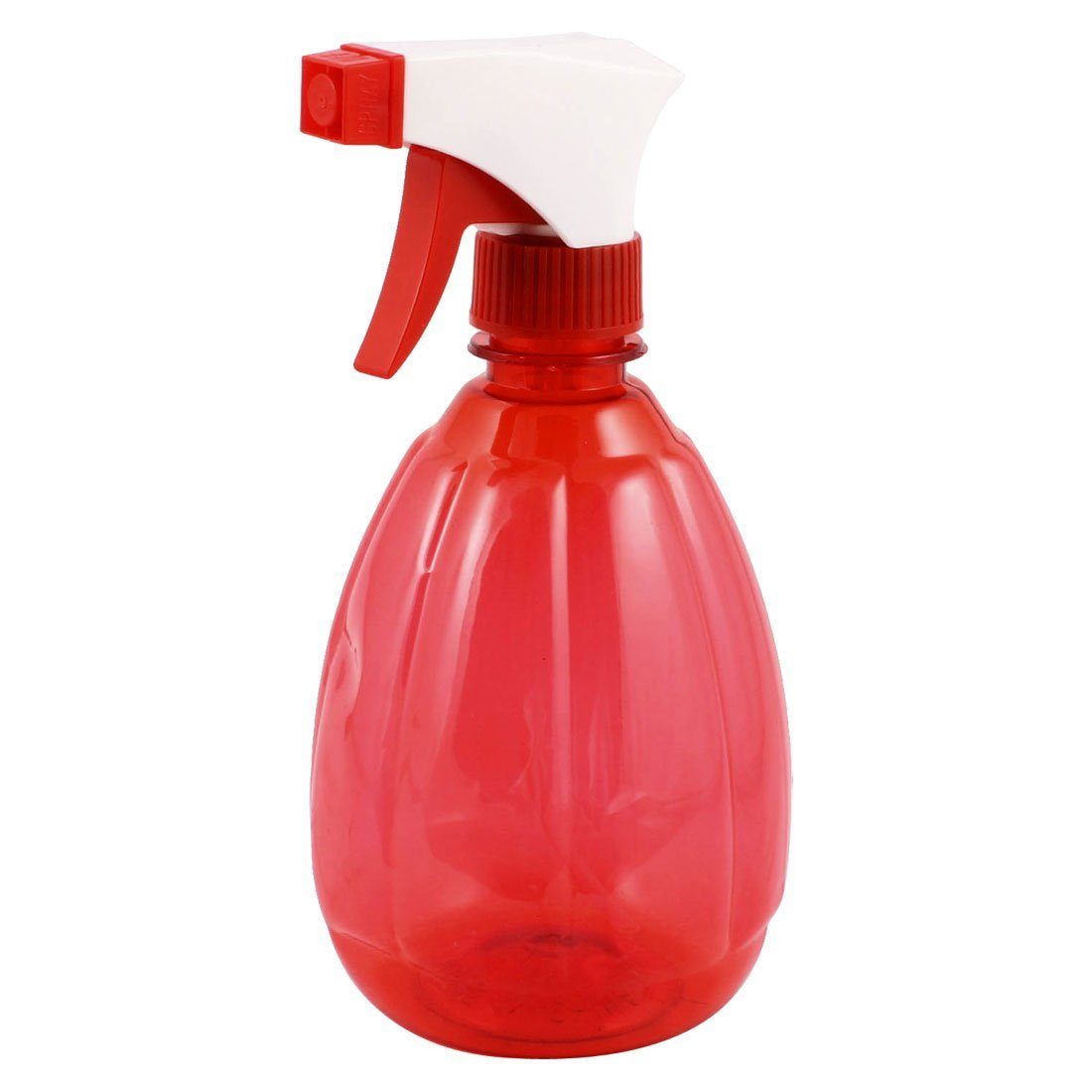 500ml Plastic Trigger Hairdressing Watering Spray Bottle Clear Red a13041600ux0880
