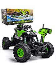 GizmoVine 2019 Updated Remote Control Car Large Size 4WD with Special 4 Steering Mode Rock Crawler Waterproof Climber 2.4Ghz Off Road RC Vehicle for Kids and Adults (Red)