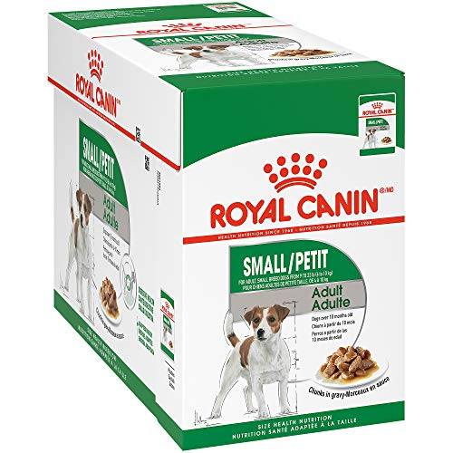 Royal Canin Small Breed Puppy Wet Dog Food, 3 oz Pouch (Pack of 12)