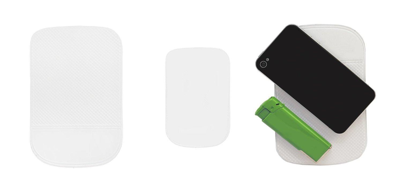 Tra 4 x Lilware Antislip Sticky Mat Klebrige Mat f/ür Auto-Armaturenbrett oder jeder anderen Oberfl/äche Kameras Spiel-Zubeh/ör und andere kleine Gegenst/ände 4 x Klar Waschbar Silikon-Gel-Pad f/ür Sonstiges Ausr/üstung Handys