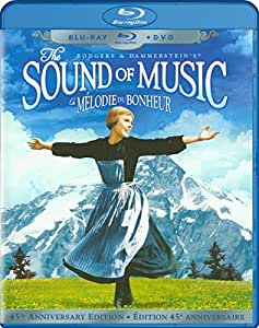 The Sound of Music: 45th Anniversary Edition [Blu-ray + DVD]