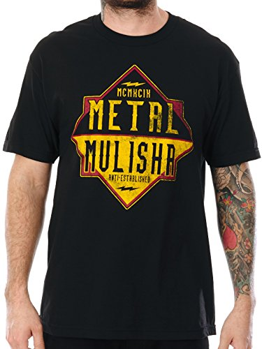 Metal Mulisha T-Shirt SP17 Liner Schwarz