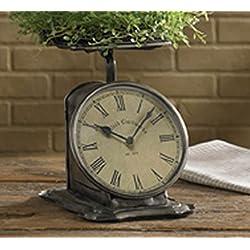 Park Designs Countertop Scale Clock