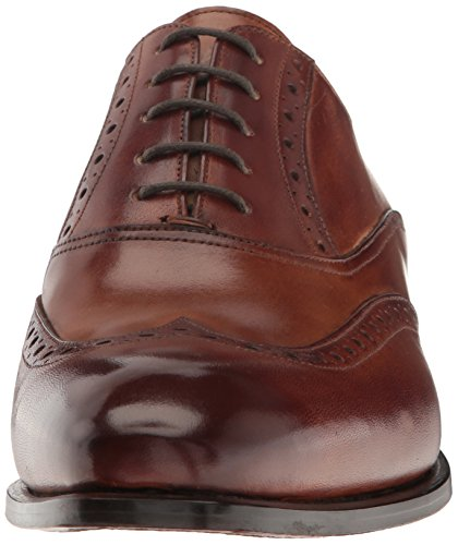 Kenneth Cole New York Mens Coat Armatura Oxford Cognac