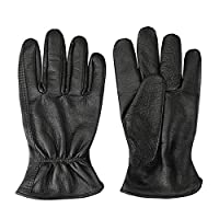 Cowhide Leather Shooting Gloves for industrial production/Riding/Driving/Gardening/Farm Hunting Gloves - Extremely Soft and Sweat-absorbent - Perfect Fit for Men & Women (Large)