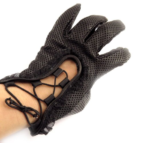 [リリーの宝 (Les Tresors De Lily)] (Scarlett コレクション) [K7587] 手袋 ブラック