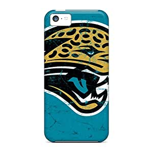 High Quality Mobile Case For Iphone 5c With Custom Vivid Jacksonville Jaguars Pattern PhilHolmes
