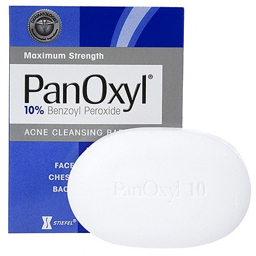 best  face wash for acne PanOxyl Bar 10% 2