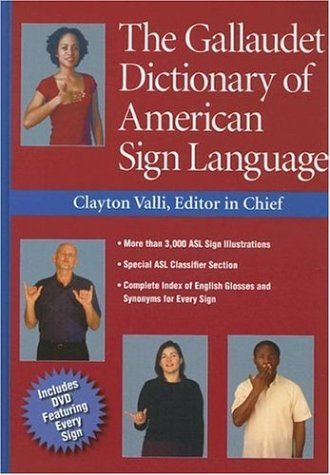 The Gallaudet Dictionary of American Sign Language from Harris Communications