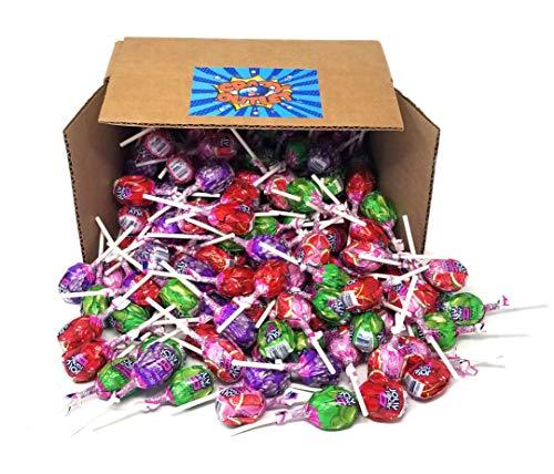 Jolly Rancher Lollipops Original Flavors, Fruit Chew Center, Hard Candy Bulk Pack, 4 lbs ()