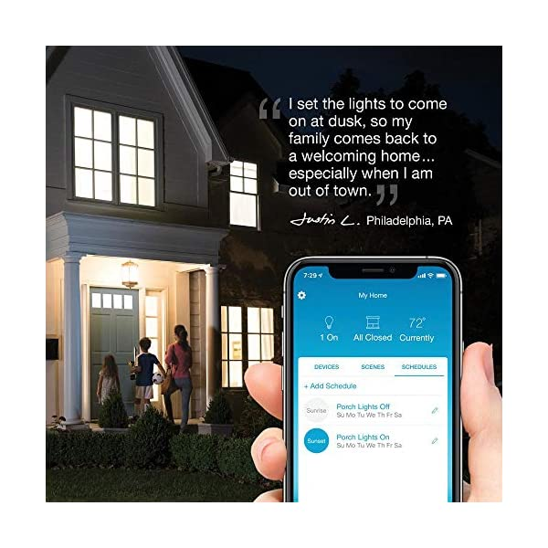 Lutron Caseta Wireless Smart Bridge | Works with Alexa, Apple HomeKit, and the Google Assistant | L-BDG2-WH | White 5