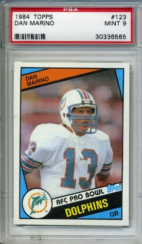 Dan Marino Rookie RC 1984 Topps #123 PSA 9 Mint with no q...