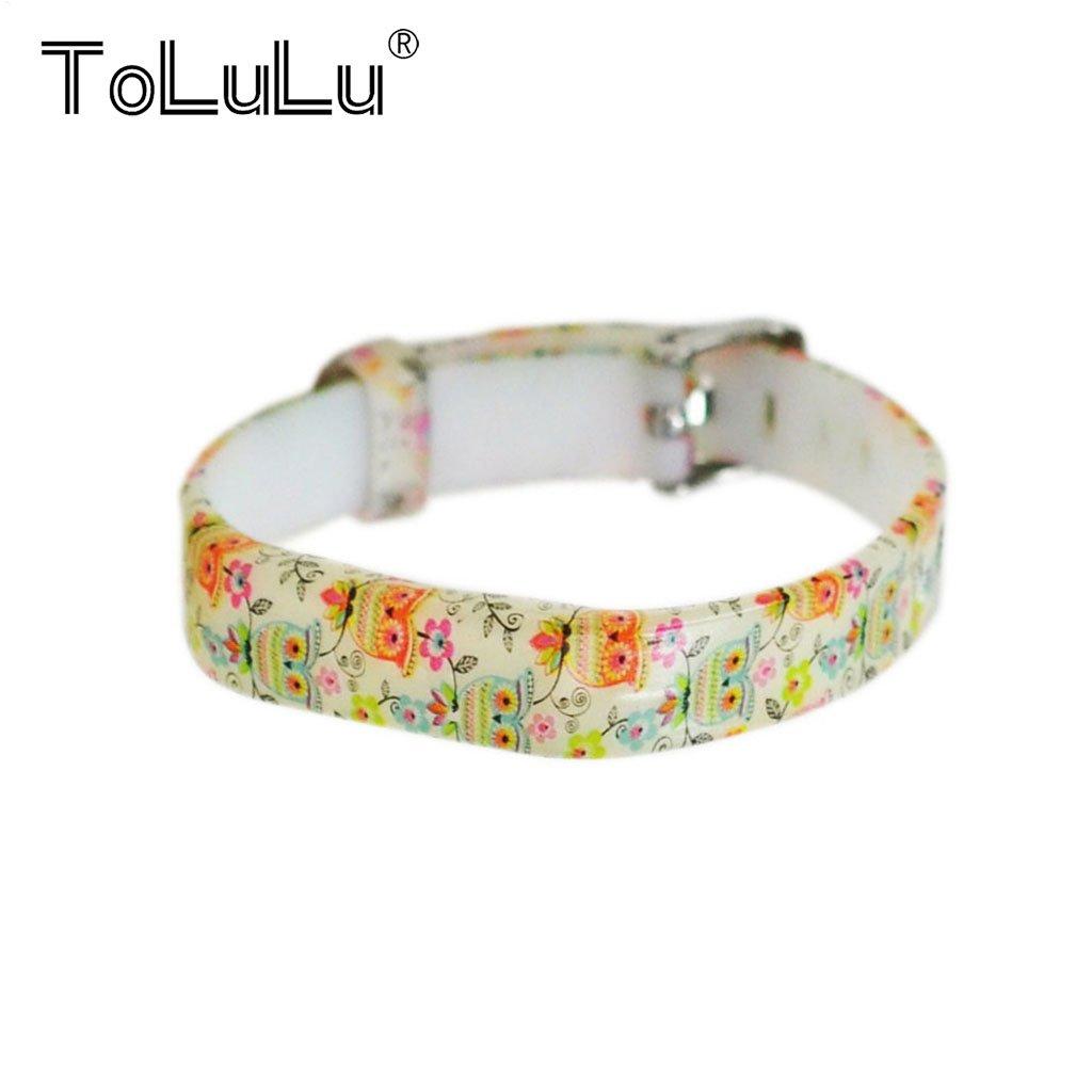 ToLuLu For Fitbit Flex 2 Colorful Replacement Wristband Strap Bracelet+Metal//Fitbit Flex 2 Buckle Fashion Wrist Band Bangle Strap