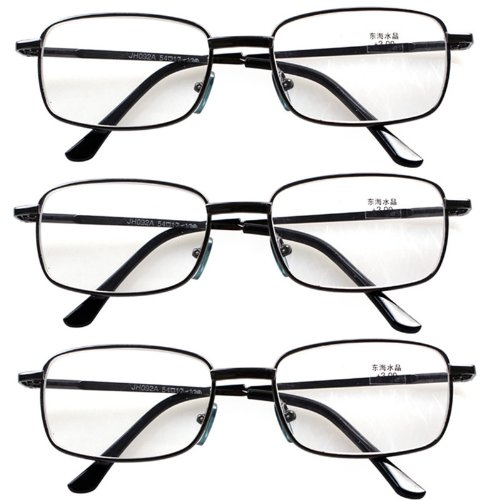 3 PRS Southern Seas Unisex Adults +3.00 Classic Everyday Reading Glasses 7 (Sea Arm Vii Set)