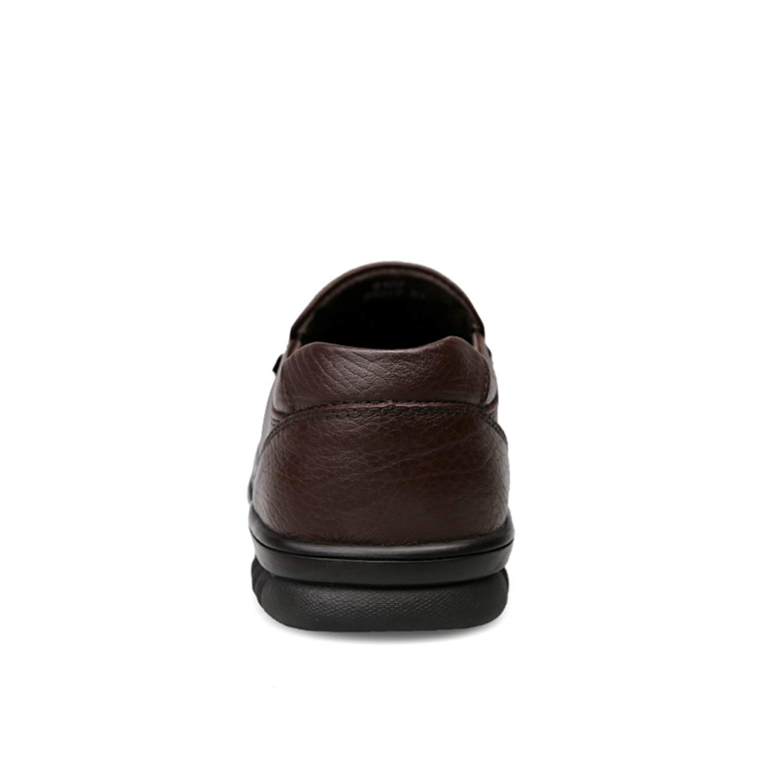 Genuine Leather Shoes Men Footwear Non-Slip Thick Sole Fashion Mens Casual Shoes Male Cowhide Loafers