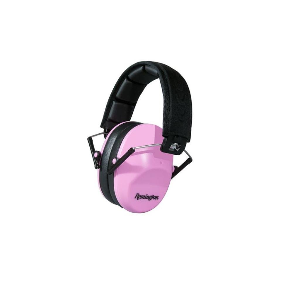 Remington 1108351 By WileyFemale Hearing Protection, Pink/Black