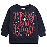Childrens Christmas Themed Long Sleeved Top