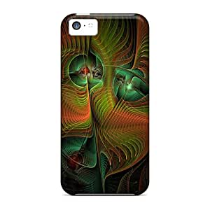 New Premium Flip Case Cover Abstract Skin Case For Iphone 5c