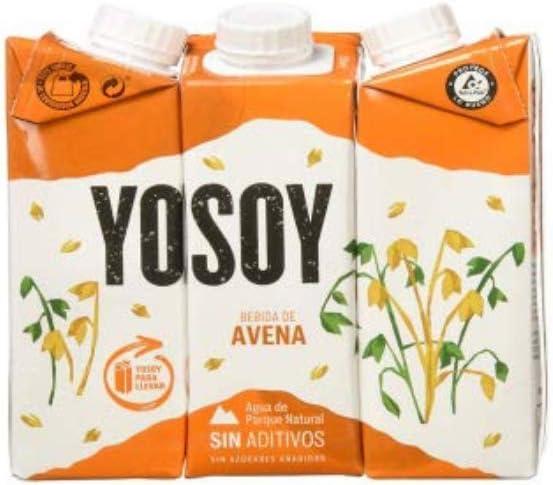 Yosoy - Bebida de Avena - Caja de 8 packs de 3x250ml: Amazon.es: Alimentación y bebidas