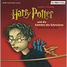 """Harry Potter und die Kammer des Schreckens (German Audio CD (10 Compact Discs) Edition of """"Harry Potter and the Chamber of Secrets"""")"""