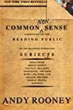 Common Nonsense, Andy Rooney, 1586482009