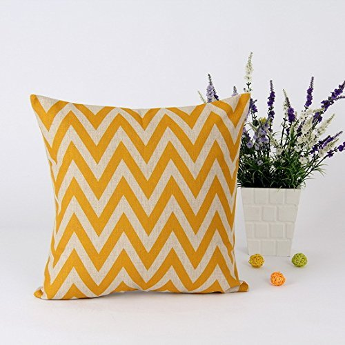 45 * 45 cm Home decoración IKEA Retro mostaza amarillo ...