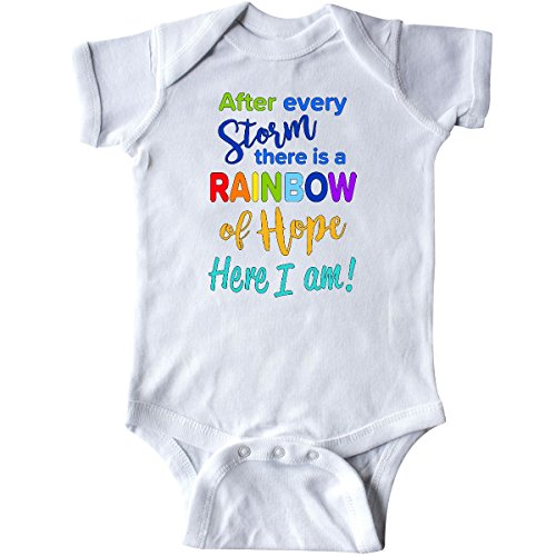 inktastic - After Every Storm, There is a Rainbow Infant Creeper Newborn White - Baby Infant Creeper