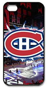 LZHCASE Personalized Protective Case for iPhone 5 - NHL Montreal Canadiens